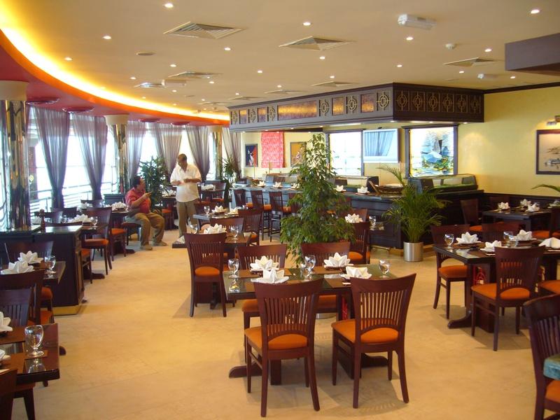 Fusion restaurant interior design concept